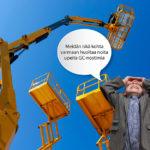 Avoin työpaikka: Henkilönostin- / huoltoasentaja GC-Cranes Kouvola